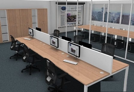 Рабочая станция на 8 рабочих мест