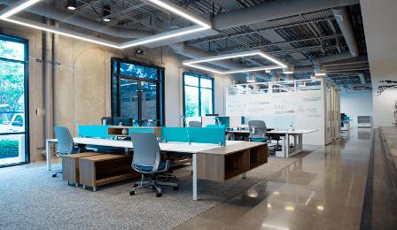 Рабочая станция на 4 рабочих места Style